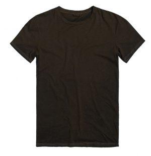 The Project Garments Ανδρική Μπλούζα Λαιμόκοψη Powder Effect Regular Fit Μαύρη