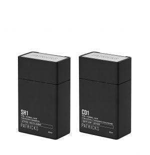 Patricks SH1 | CD1 Travel Set Σαμπουάν και Conditioner 2 x 60ml 1+1 ΔΩΡΟ