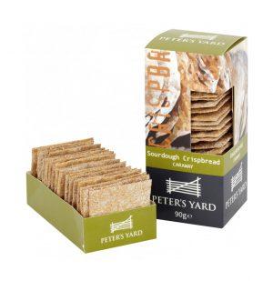 Κρακεράκια Peters Yard Sourdough Crispbread Caraway 90g