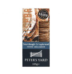 Κρακεράκια Peters Yard Sourdough Seeded Wholegrain Crispbread 105g