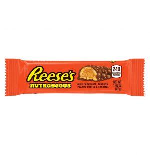 Μπάρα Reeses Nutrageous Milk Chocolate Peanuts Peanut Butter And Caramel 47g