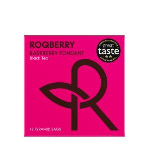 Τσάι Μαύρο με Βατόμουρο Roqberry Raspberry Fondant Black Tea 12 Φακελάκια 1+1 ΔΩΡΟ