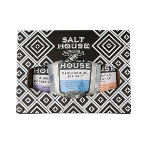 Σετ Αλάτια σε Συσκευασία Δώρου Classic Gift Pack Salthouse 3x60g