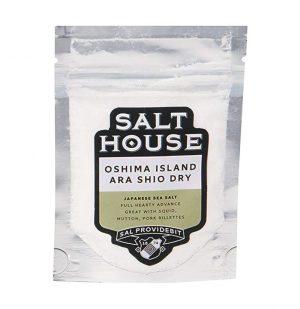 Αλάτι Oshima Island Ara Shio Dry Salthouse 60g
