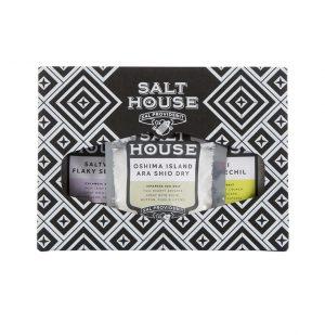 Σετ Αλάτια σε Συσκευασία Δώρου Quirky Gift Pack Salthouse 3x60g