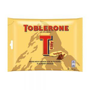 Σοκολατάκια Γάλακτος Toblerone Tiny Milk Chocolate Honey and Almond Nougat 200g