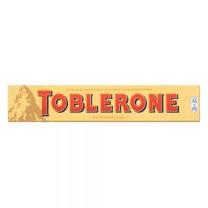 Σοκολάτα Γάλακτος Toblerone Milk Chocolate Honey and Almond Nougat 100g