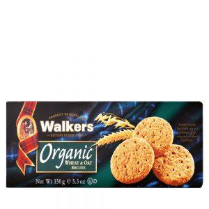 Μπισκότα Walkers Organic Wheat and Oat Biscuits 150g