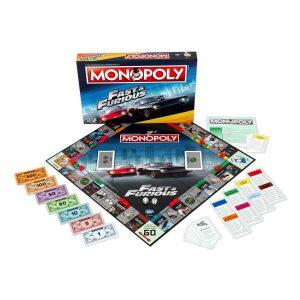 Επιτραπέζιο Monopoly Fast and Furious Winning Moves (Στα Αγγλικά)