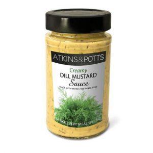Σάλτσα Μουστάρδας Atkins and Potts Dill Mustard Sauce 200g