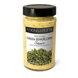 Σάλτσα Atkins and Potts Green Peppercorn Sauce 190g