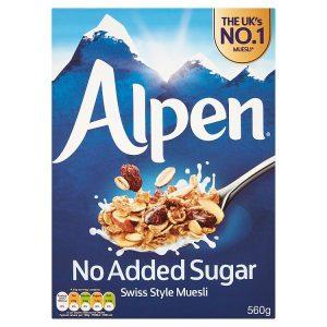 Δημητριακά Μούσλι Alpen No Added Sugar Muesli 560g