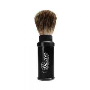 Πινέλο Ξυρίσματος Από Τρίχα Ασβού Baxter of California Travel Shaving Brush with best badger