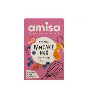 Μείγμα για Pancakes Βιολογικό Vegan Amisa Pancake Mix 2x180g