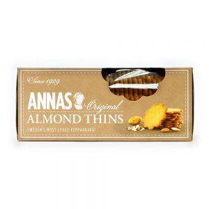 Μπισκότα Αμύγδαλο Annas Original Almond Thins 150g