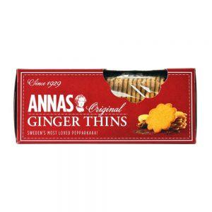 Μπισκότα Τζίντζερ Annas Original Ginger Thins 150g