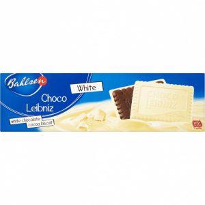 Μπισκότα με Λευκή Σοκολάτα Bahlsen Choco Leibniz White 125g