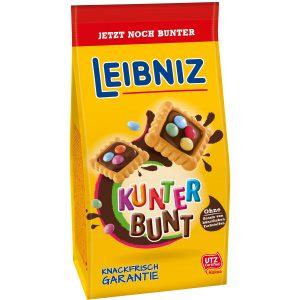Μπισκότα με Σοκολάτα και Κουφετάκια Bahlsen Leibniz Kunter Bunt 150g