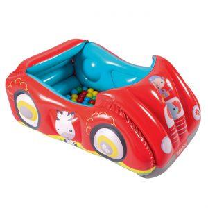 Φουσκωτό Αυτοκίνητο Παιδότοπος Fisher Price Bestway 119x79x51cm 00023418