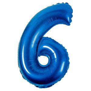 Μπαλόνι Μπλέ Αριθμός 6