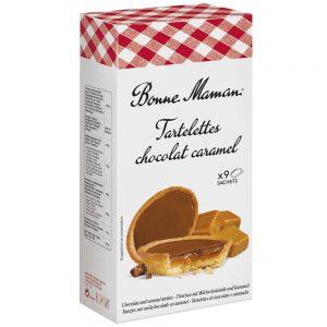 Ταρτάκια Γεμιστά Σοκολάτα Καραμέλα Bonne Maman Tartelettes Chocolat Caramel 135g