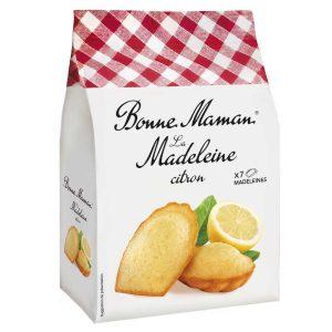 Κέικ Ατομικά με Λεμόνι Bonne Maman Madeleine Citron 175g