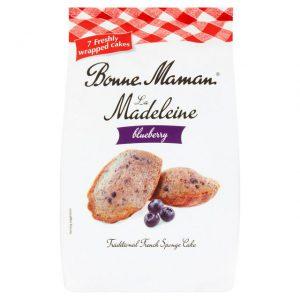 Κέικ Ατομικά με Μύρτιλλο Bonne Maman Madeleine Blueberry 175g