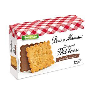Μπισκότα με Σοκολάτα Γάλακτος Bonne Maman Le Grand Petit Beurre Chocolat 170g