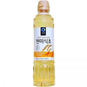 Ξύδι Ρυζιού Daesang Chung Jung One Brown Rice Vinegar 500ml