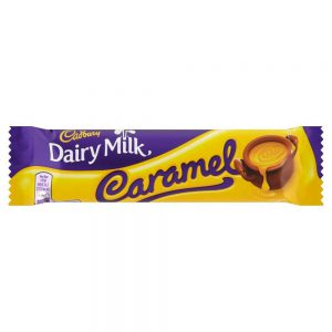 Σοκολάτα Γάλακτος Cadbury Dairy Milk Caramel 45g