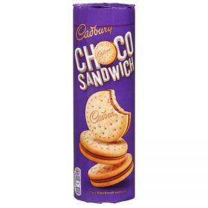 Μπισκότα Γεμιστά Cadbury Choco Sandwich 260g