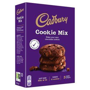 Μείγμα για Μπισκότα Cadbury Cookie Mix 265g