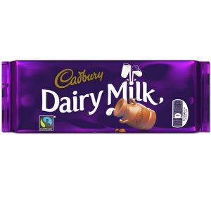 Σοκολάτα Γάλακτος Cadbury Dairy Milk 110g