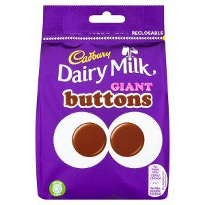 Σοκολατάκια Γάλακτος Cadbury Giant Buttons 119g