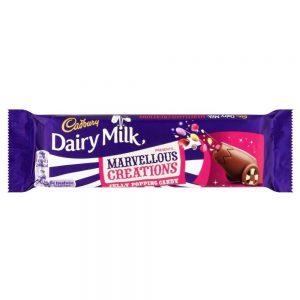 Σοκολάτα Γάλακτος Cadbury Dairy Milk Marvellous Creations Jelly Popping Candy 47g