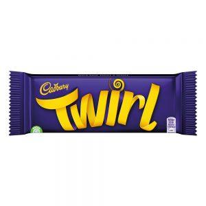 Σοκολάτα Γάλακτος Cadbury Twirl 43g