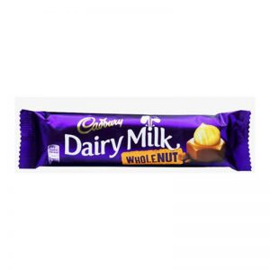 Σοκολάτα Γάλακτος Cadbury Dairy Milk Wholenut 45g