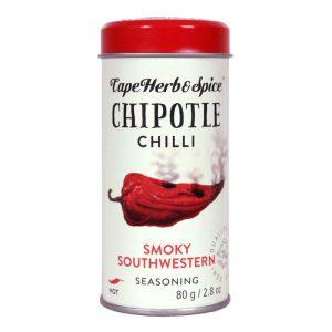 Μείγμα Μπαχαρικών Cape Herb and Spice Chipotle Chilli Smoky Southwestern Seasoning Hot 80g