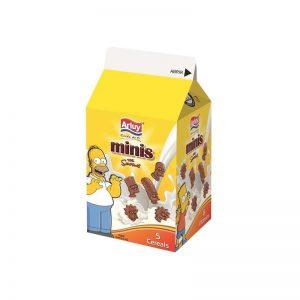 Μπισκότα Μίνι Σοκολάτας Arluy Minis Simpsons Chocolate Biscuits 135g