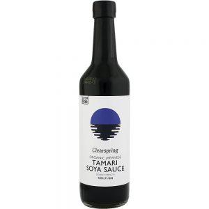 Σάλτσα Σόγιας Βιολογική Vegan Clearspring Japanese Tamari Soy Sauce 150ml
