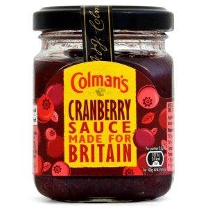 Σάλτσα με Μούρα Colmans Cranberry Sauce 165g