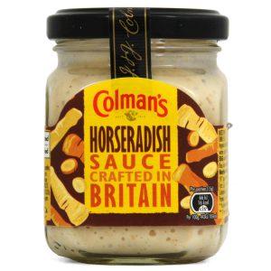 Σάλτσα Χρένου Καυτερή Colmans Horseradish Sauce 136g