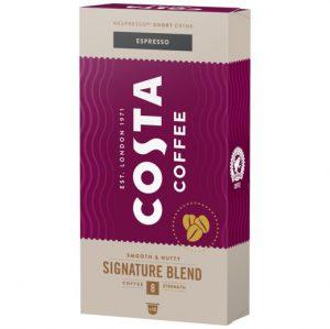 Καφές Espresso Costa Coffee Signature Blend 8 Strength 10 Κάψουλες