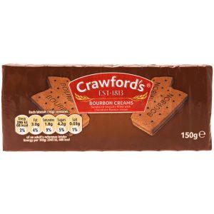 Μπισκότα McVities Crawfords Bourbon Creams 150g