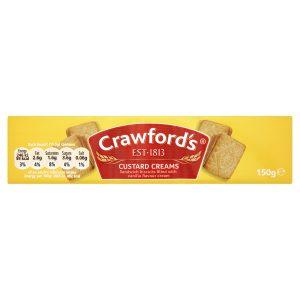 Μπισκότα McVities Crawfords Custard Creams 150g