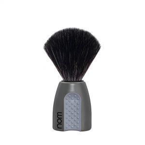 Πινέλο Ξυρίσματος Nom Erik με μαύρες ίνες plastic Grey