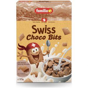 Παιδικά Δημητριακά Ολικής Άλεσης Familia Swiss Choco Bits 375g