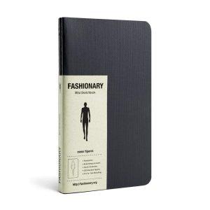 Τετράδιο για Σκίτσα Μόδας Fashionary Mini Sketchbook Mens Figures
