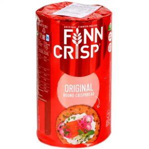 Φρυγανιές Σίκαλης Ολικής Άλεσης Στρογγυλές Finn Crisp Original Round Crispbread 250g