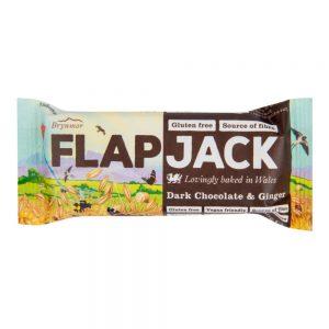 Flapjack Μπάρα Δημητριακών με Μαύρη Σοκολάτα και Τζίντζερ 80g